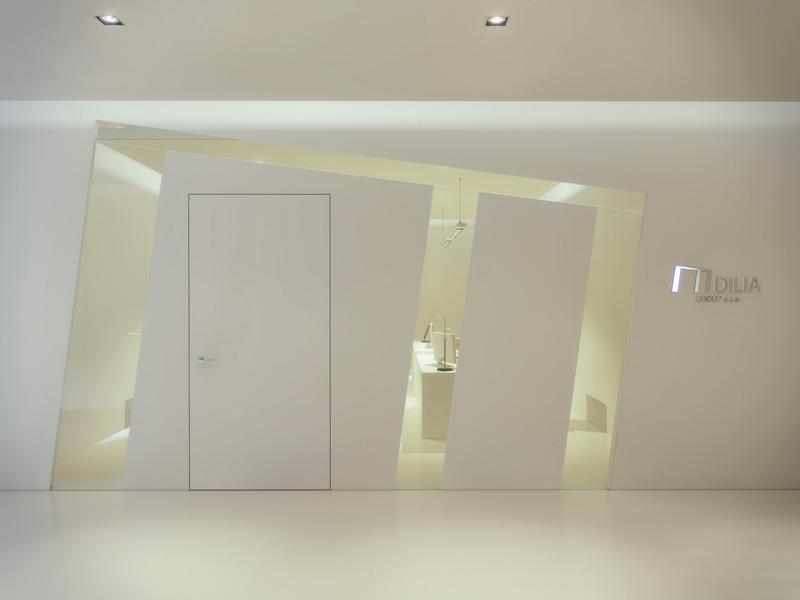 foto di pareti in cristallo personalizzabili