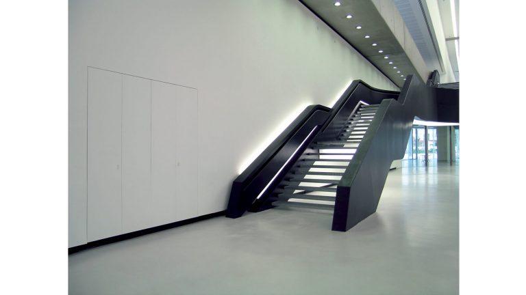 foto di chiusura quadro elettrico chiuso Museo Maxxi