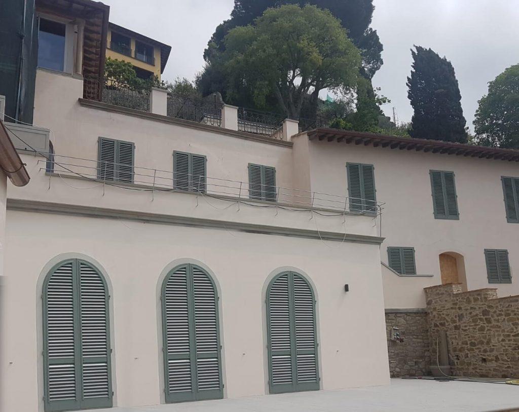 foto Villa A Fiesole per progetto Raso Parete