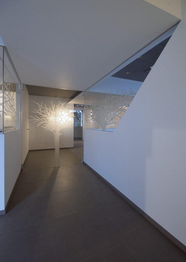 foto del Portfolio pareti in cristallo