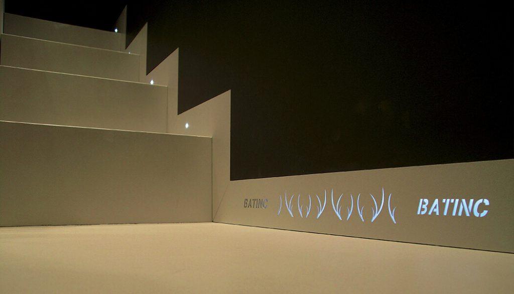 foto di Battiscopa a filo muro illuminati