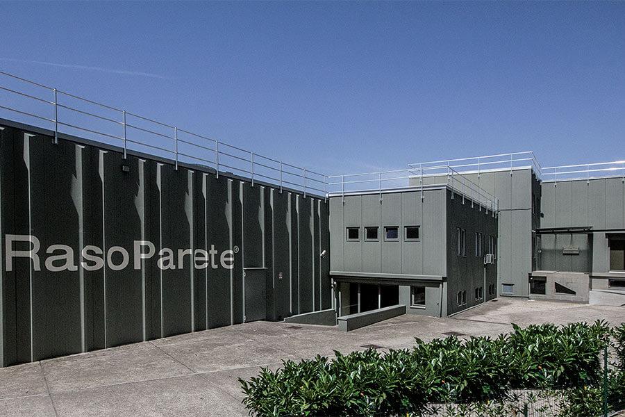 Foto della fabbrica Raso Parete dall'esterno