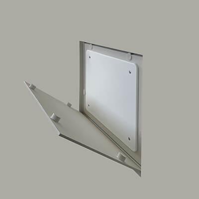 foto di scatola elettrica filomuro