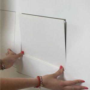 foto di scatole derivazione filo muro
